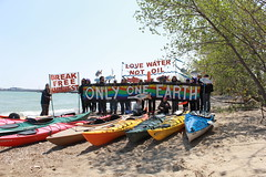 Break Free Midwest (ForestCity350) Tags: breakfree breakfreemidwest keepitintheground bp refinery eastchicago whiting 350org forestcity350 protest march kayaktivism