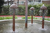 Mushroom fountain, Redondo Beach
