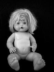 The Doll in LoVe (alberto martucci) Tags: doll dolly dark stillife love fuji x100s horror disturbing