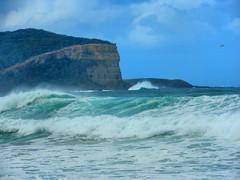 sml-fhdr-DSCN0242 (elphweb) Tags: roughseas roughsea ocean nsw australia sea water waves breakers storm coast coastal falsehdr fhdr bigwaves bigsurf surf foam mist