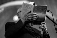 Alistair MacLeod – Fiddles and Prose – 10/6/12 (photo: Corey Katz)