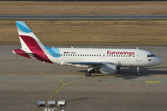 Eurowings Airbus A319-112 D-ABGM @NUE/EDDN 2017-03-16 (airbus-a340) Tags: nue eddn airport flughafen albrecht dürer nürnberg nuremberg germany aircraft spotter airfield aviation plane eurowings airbus a319112 dabgm nueeddn 20170316 planespotter