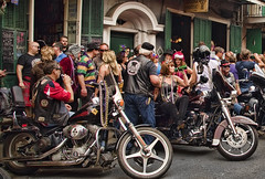 Biker Club (msuner48) Tags: d750 acr5 cs4 people bikers mardigras 2017 neworleans louisiana topazlabs nikcollection nikonafs24120mmf4ged