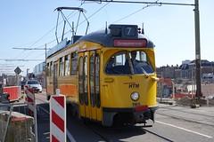 HOVM rijseizoen weer begonnen (Gerard Stolk (vers la Fête du Roi)) Tags: delft levendeetalagedag 1165 htm hovm tram trams streetcar straszenbahn