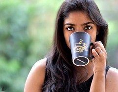 Rashi (rajnishjaiswal) Tags: rashi daughter portrait girl coffee girldrinkingcoffee cup coffeecup