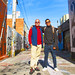 Scott and Noel, Clarion Alley, San Francisco, 2016