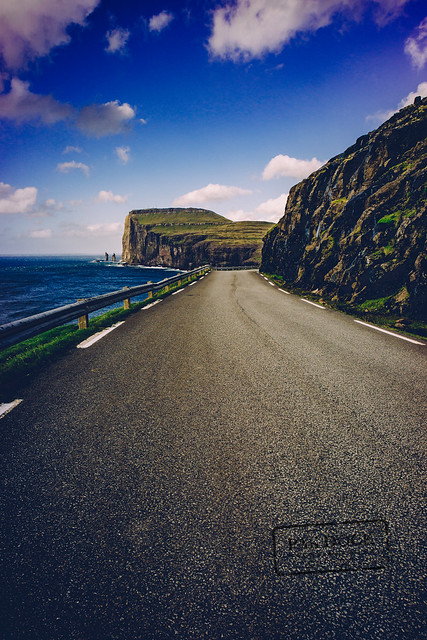 The road to Tjornuvik - Faroe Islands