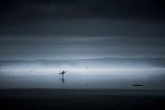 Strings of life (Scott Baldock) Tags: saunton sands devon mist sea surfer