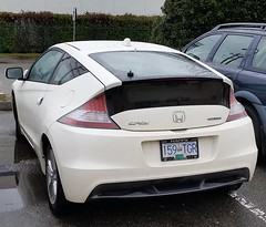Honda CR-Z Hybrid (D70) Tags: the honda crz sport compact hybrid electric automobile manufactured marketed sporthybridcoupe combines gasolineelectric powertrain traditional sports car