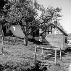 Freilichtmuseum Beuren (Matthias Lang) Tags: entwickler rodinal fujiacross100 8800f film canon sw vb rolleicord