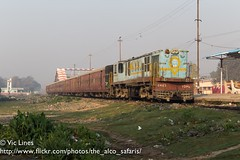 170227_24 (The Alco Safaris) Tags: alco dlw ydm4 rsd30 dl535 indian railways metre gauge jjp jhahjahanpur 6465 sakri laukaha bazar