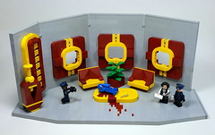 Murder on the S.S. Benny (Legopold) Tags: lego murder benny spaceship police