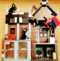 Phantom Zone Jail Breakout (Letgoofmylego) Tags: superman batman catwoman zod dc comics moives tv phantom zone jail breakout bruce minifig lego wayne clark kent kyle all mini figures official