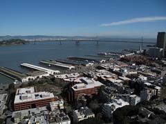 Oakland Bay Bridge (ty law) Tags: sanfrancisco2017 sanfrancisco sfmoma art museum modern coittower oaklandbaybridge leovillareal richardserra alexandercalder clyffordstill morrislouis cytwombly transamericabuilding gerhardrichter berndandhillabecher roylichtenstein jasperjohns