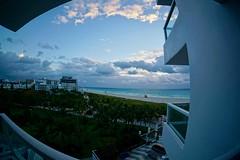 The Stanton SoBe (shinnygogo) Tags: 2017 florida hotel southbeach spring springbreak sunrise view marriott stanton south beach sony fisheye alpha morning am sobe beautiful rightonthebeach oceanview