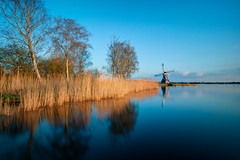 Mill at Paterswoldsemeer | Haren, the Netherlands (frata60) Tags: nikon d300s netherlands nederland 1224mm tokina landscape landschap weerspiegeling longexposure le mill molen helper paterswoldsemeer
