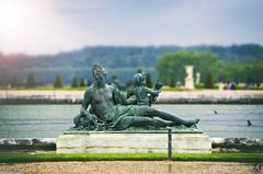 Discovering Versailles (Alessandro Giorgi Art Photography) Tags: paris parigi versailles discovering scoprire france francia fontana fountain statue statua water acqua sky cielo sun sole nikon d7000 walking visiting monument monumento visitare trip travel gardengiardini viaggiare colors colori