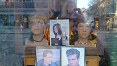 windowshopping II (larsniel) Tags: copenhagen shop spring hair urban hairdresser window glasses hairstyle reflection
