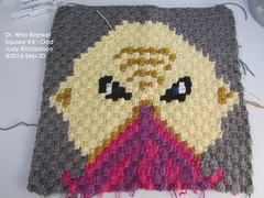 dr-who-blanket-ood (judejean) Tags: crochet square c2c drwho 2016 2017 blanket afghan throw bobbins