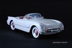 1953 Corvette 4 (DOLPHIN☆CRAFT) Tags: 1953 chevrolet corvette monogram シボレー コルベット モノグラム プラモデル