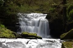 waterfall (Karen Warren1) Tags: waterfall river watersmeet trees exmoor exmoornationalpark walk1000miles2017 walk1000miles worldinneedwalkersimplesitecom simplysuperb