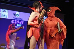 Comicdom Con Athens 2017: On stage: She-Ra group (SpirosK photography) Tags: comicdomcon comicdomcon2017 comicdomconathens2017 athens greece convention spiroskphotography cosplay costumeplay onstage stage performance