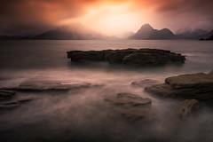 Elgol (devlin11) Tags: skye isleofskye scotland scenery seaside seascape rock mountains mountain mystic mist nikon cuillin landscape highlands exposure