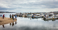 Harbour View (clive_metcalfe) Tags: water harbour poole dorset uk boats activity cloud reflection