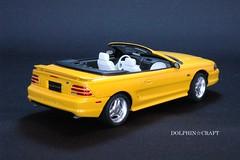 Mustang GT Convetible 4 (DOLPHIN☆CRAFT) Tags: ford mustang gt convertible tamiya フォード ムスタング マスタング コンバーチブル タミヤ プラモデル