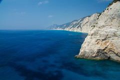 Lefkas (babell4321) Tags: lefkas holiday sea cliffs view blue lefkada beverleybell 2016