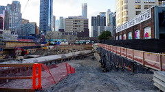 029crpshsat (citatus) Tags: 501 yonge street construction site alexander maitland toronto canada spring morning 2017 pentax k3 ii buddies bad times theatre