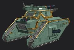 WIP: Nebuchadnezzar (Cagerrin) Tags: lego system tank wip ldd 3d digital designer