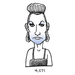 4,071 (Don Moyer) Tags: face ink drawing sketchbook moyer donmoyer brushpen
