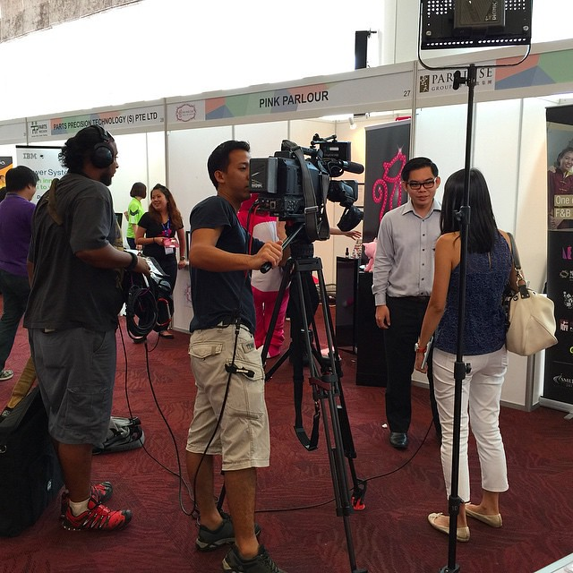 Coverage from #ChannelNewsAsia  #MediaCorp