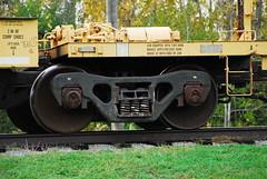 Barber S-2-HD truck 2 Ottawa, Ontario Canada 10142014 Ian A. McCord (ocrr4204) Tags: railroad ontario canada cn train nikon ottawa rail railway mccord nepean cnr canadiannational cnrail ianmccord ianamccord
