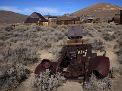 Bodie Ghost town, California (sensaos) Tags: california park travel usa classic abandoned car america town rust state decay united nevada ghost rusty sierra historic mining forgotten rusted ghosttown bodie states derelict abandonment miningtown bodiestatehistoricpark 2013 sensaos minington