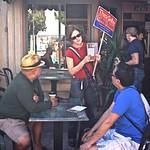 Thea Selby Campaigns at Farley's, Potrero Hill