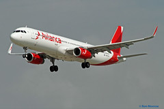 Avianca, Airbus A321 (Ron Monroe) Tags: airbus lax airlines airliners a319 avianca klax n697av