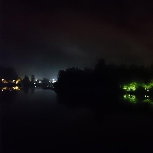 Calle Calle de noche.  (Foto sin filtro del #XperiaZ2)