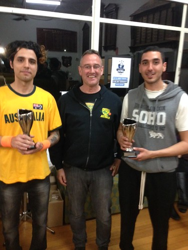23. Winners up up of the 2014 National Open Doubles  Mohammed Yazdi & Hamid Abdolrahmani  (Victoria)