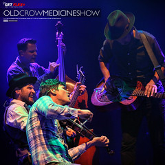 Old Crow Medicine Show (Frography (by Flex)) Tags: show old music photography concert nashville bluegrass camden live country band string americana medicine crow roundhouse
