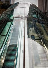 Portal (Stuart Feurtado) Tags: 1635 canarywarf architecture city d600 dome escalator glass hdr london nikon path photomatix portal sky skyscraper steel underground