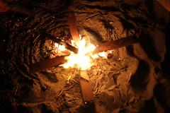 Richmond beach fire