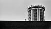 Hotel Angeleno (Cameran80) Tags: street blackandwhite bw film analog 50mm hotel losangeles pentax pentaxk1000 tmax400 kodaktmax400 400tmy hotelangeleno 400tmx ilfosol3