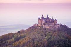 Hohenzollern Castle - Landscape (PHOTOPHOB) Tags: autumn mountain rural germany landscape deutschland lumix herbst panasonic g6 horn landschaft wald burg schwbischealb hechingen hohenzollern zoller zeller schlos albtrauf zollernalbkreis badenwrttermberg zellerhorn zollerberg photophob houseofhohenzollern dmcg6