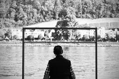 Kopf hoch! (larakatrose) Tags: street people white black photography rhine rhein koblenz