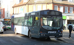 First KX05MHU Broken Down in Ipswich 4-11-2014 (The original SimonB) Tags: november buses suffolk transport first samsung ipswich 2014 wb150