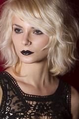 Lisa (austinspace) Tags: portrait woman studio washington model spokane dress blond blonde alienbees