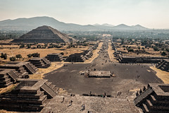 Avenue of the Dead (damonlynch) Tags: travel cactus people plants building cacti walking mexico person climb pyramid walk teotihuacan culture mexican northamerica destination cactaceae popular ancientcivilization ascension humans vastness indigenous ascent ascend humanbeings vast ascending teotihuacn archaeologicalsite stateofmexico touristdestinations