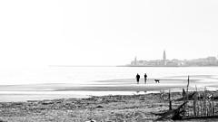 Caorle (prenzlauerberg) Tags: bw mer nikon italia sable nb dxo plage italie 2014 caorle brussa nikoncapturenx nikon70200mmf28 nikond610